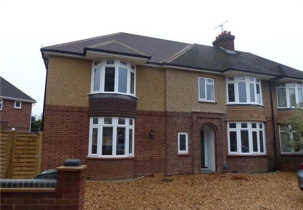 Thumbnail Semi-detached house to rent in Byron Crescent, Bedford