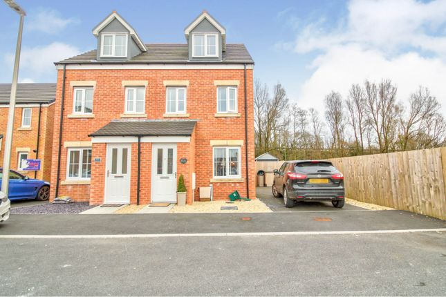 3 bed semi-detached house for sale in Heol Cae Pownd, Llanelli SA14