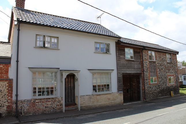 Thumbnail Semi-detached house for sale in Thetford Road, Ixworth, Bury St. Edmunds