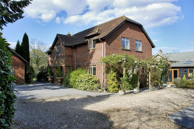 Thumbnail Detached house for sale in Burley Street, Burley, Ringwood