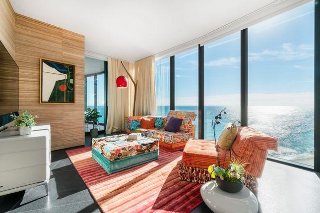Master Bedroom Living Area - Apt 1601 - Porsche Design Tower Miami