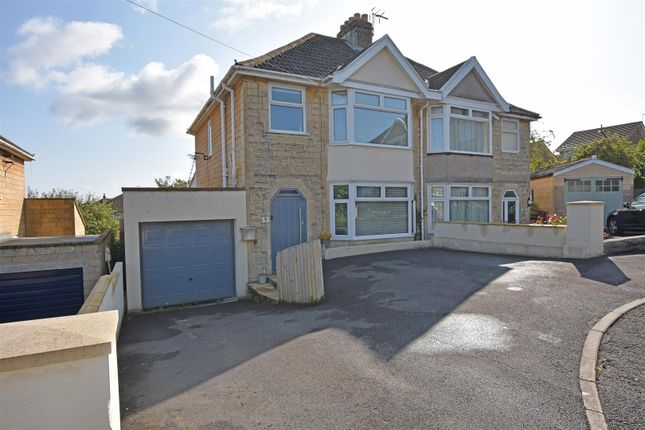 Thumbnail Semi-detached house for sale in Rowacres, Bath