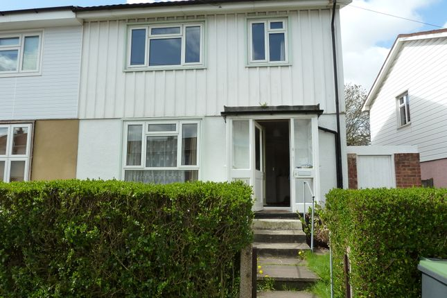 Thumbnail Semi-detached house to rent in Hatfields Road, Loughton