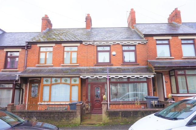 Thumbnail 2 bed terraced house for sale in Oldpark Avenue, Belfast