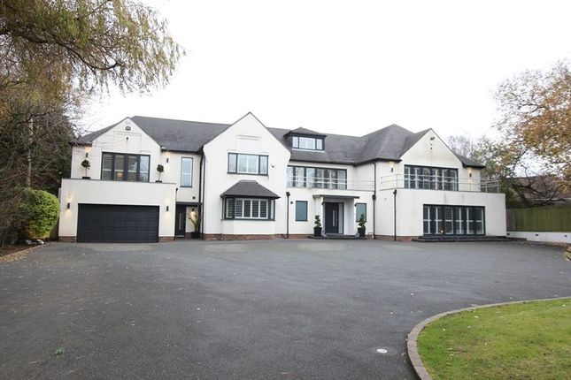 Thumbnail Detached house for sale in Thorsway, Caldy, Wirral