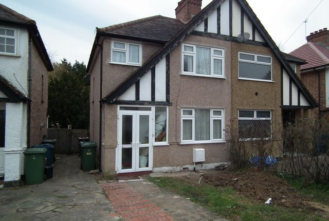 Thumbnail Semi-detached house to rent in Belsize Road, Harrow Weald