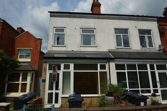 Thumbnail End terrace house to rent in 26 Waterloo Road, Kings Heath, Birmingham