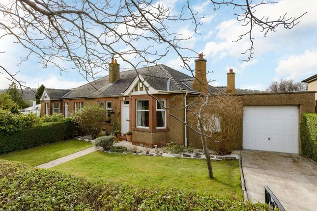 Thumbnail Semi-detached bungalow for sale in 40 Strachan Road, Edinburgh