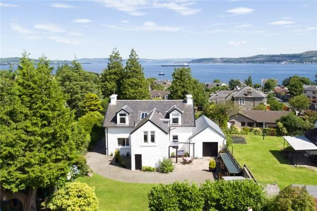 Thumbnail Detached house for sale in Argyll Road, Kirn, Dunoon, Argyll And Bute