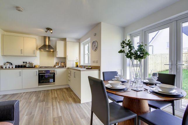 "Thumbnail End terrace house for sale in ""Wemyss"" at Drumpellier Avenue, Coatbridge"
