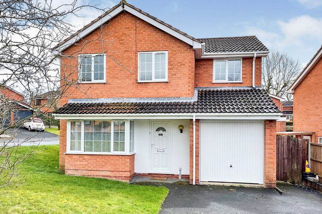 Thumbnail Detached house for sale in Boultons Lane, Crabbs Cross, Redditch