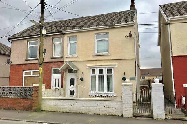 Thumbnail Semi-detached house for sale in Godfrey Avenue, Glynneath, Neath