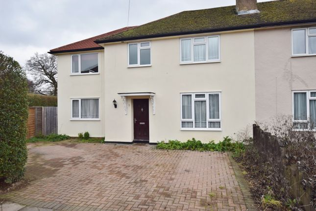 Thumbnail Semi-detached house for sale in Cannon Close, Hampton