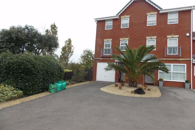 Thumbnail Town house to rent in Clos Mancheldowne, Barry, Vale Of Glamorgan