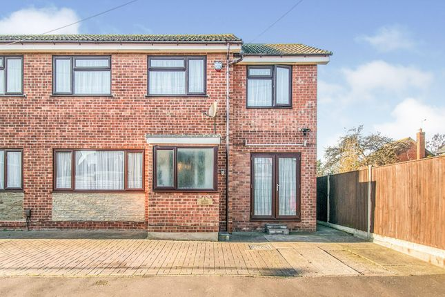 Thumbnail Semi-detached house for sale in Leys Close, Great Yarmouth