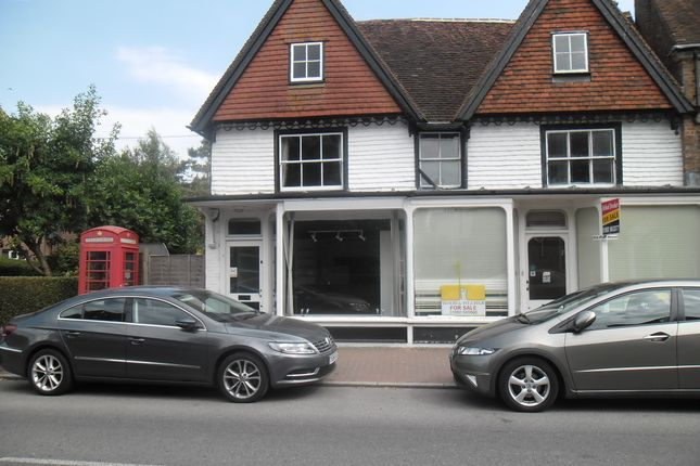 Thumbnail Retail premises to let in Church Road, Rotherfield