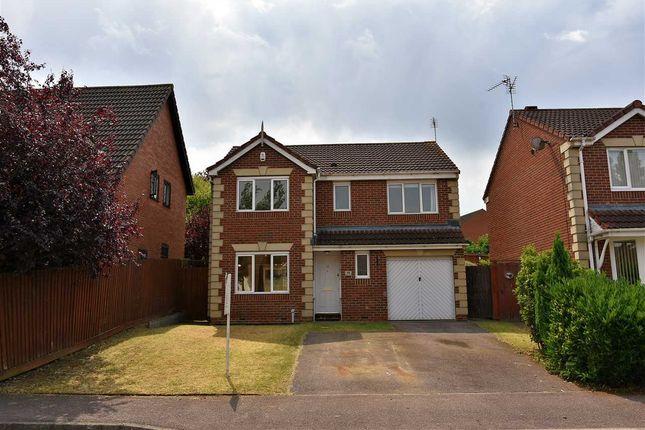 Thumbnail Detached house to rent in Ashton Grove, Wellingborough, Northants