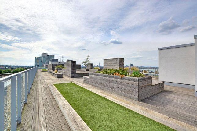 Roof Terrace of Adagio Point, 3 Laban Walk, Deptford, London SE8