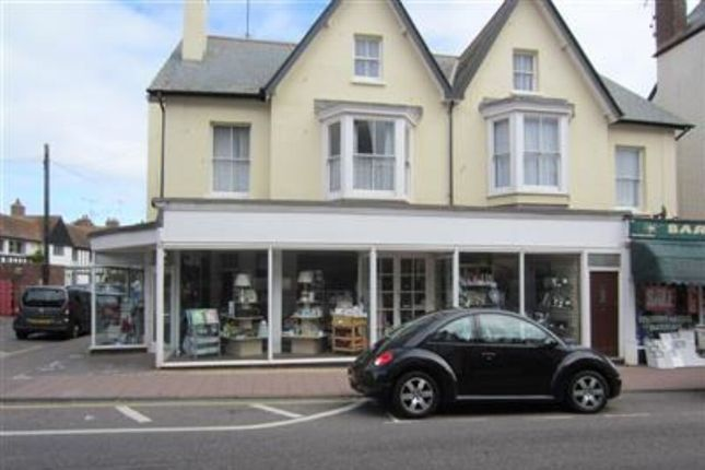 Thumbnail Flat to rent in High Street, Budleigh Salterton