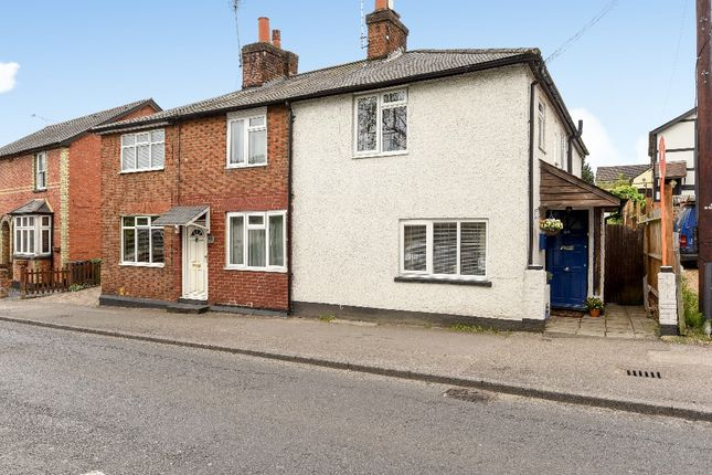 Thumbnail End terrace house for sale in London Road, Bagshot