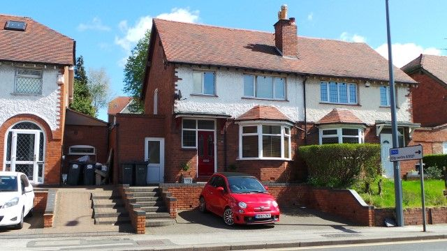 Thumbnail Semi-detached house for sale in Victoria Road, Sutton Coldfield, West Midlands