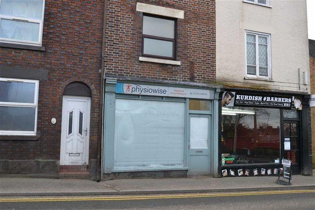 Retail premises for sale in Ashbourne Road, Leek, Staffs