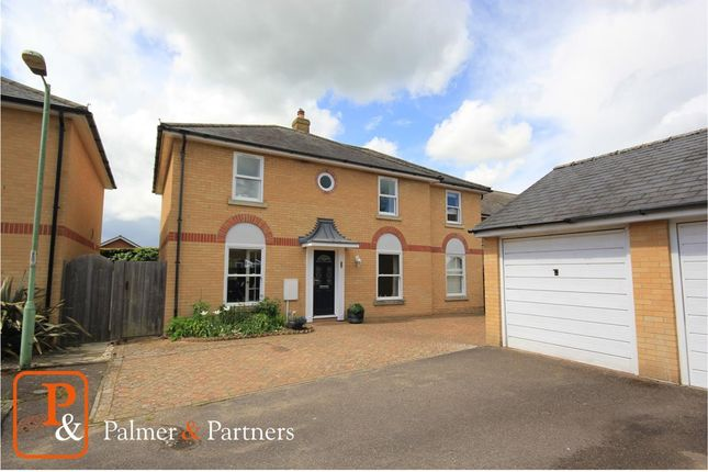 Thumbnail Detached house for sale in Chelsea Court, Sudbury