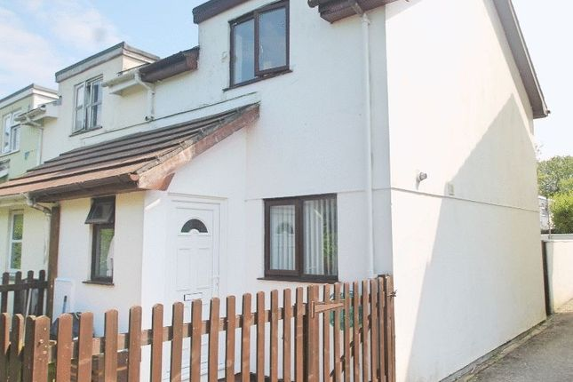 Thumbnail End terrace house to rent in Bosworgey Close, St. Columb