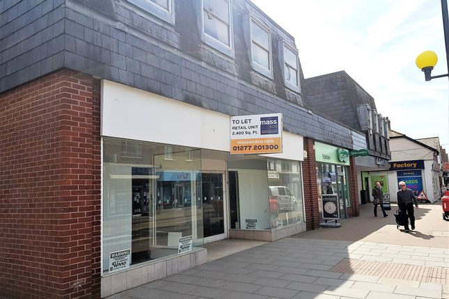 Thumbnail Retail premises to let in 42 High Street, Wickford