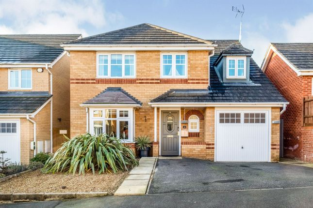 Thumbnail Detached house for sale in Kempton Close, Corby