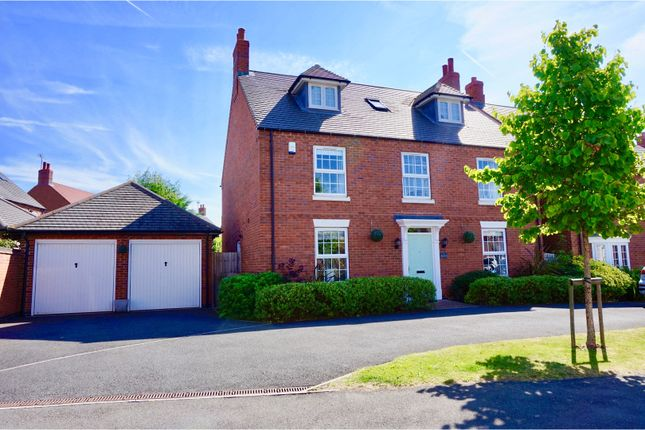 Thumbnail Detached house for sale in Willow Road, Barrow Upon Soar