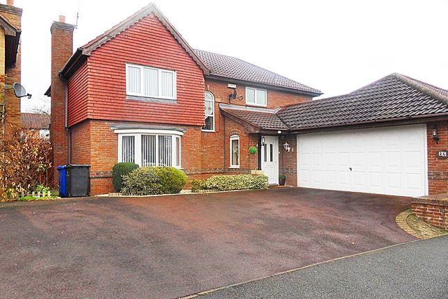 Thumbnail Detached house for sale in Squires Way, Derby