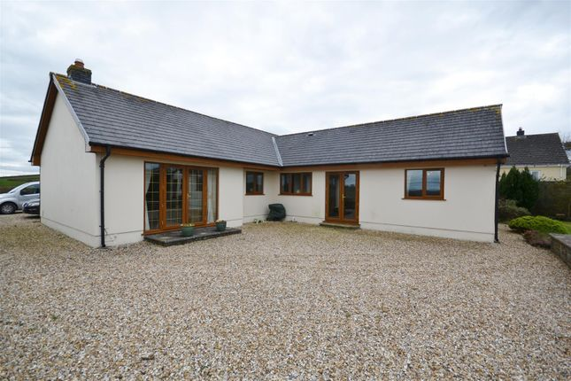 Thumbnail Detached bungalow for sale in Parc Y Gwenyn, Ferryside
