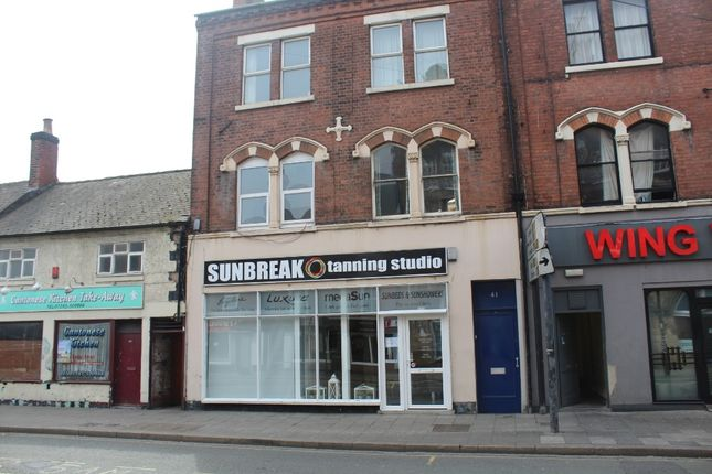 Thumbnail Flat to rent in New Street, Burton-On-Trent