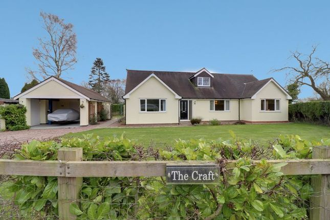 Detached house for sale in Allimore Green, Haughton, Stafford
