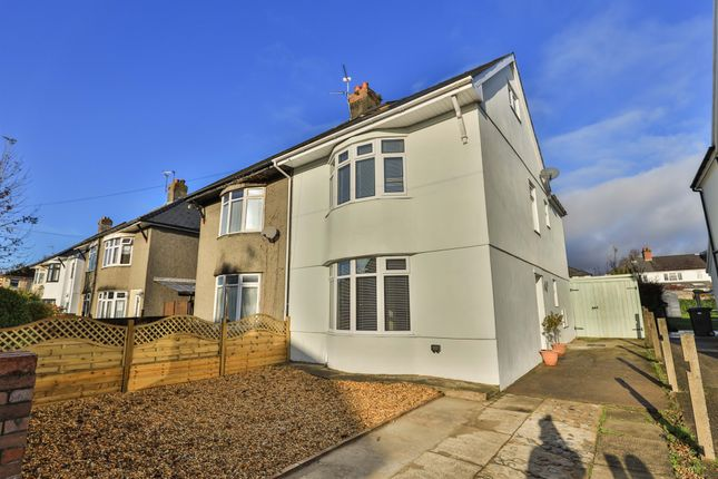 Thumbnail Semi-detached house for sale in Athelstan Road, Whitchurch, Cardiff