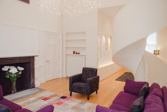 Thumbnail Flat to rent in George Square, Edinburgh