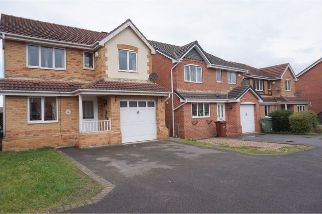 Thumbnail Detached house for sale in Queensbury Court, Normanton