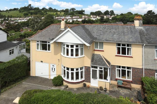 4 bed semi-detached house for sale in Knowles Hill Road, Newton Abbot, Devon
