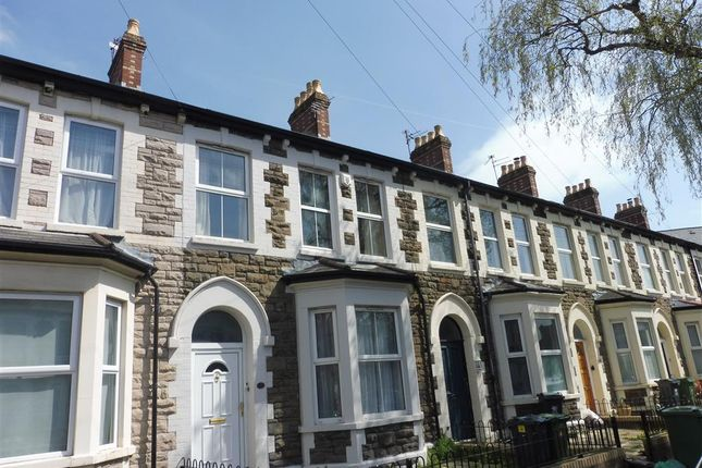 Thumbnail Terraced house to rent in Rawden Place, Cardiff