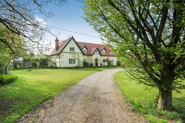 Thumbnail Detached house for sale in Larling, Norwich