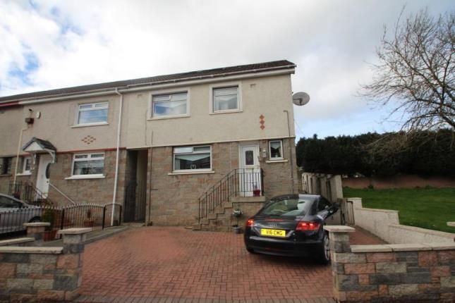 Thumbnail End terrace house for sale in Clarkston Drive, Airdrie, North Lanarkshire