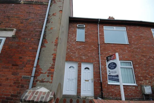 2 bed flat to rent in Second Avenue, Ashington NE63