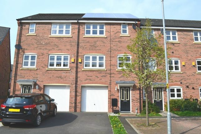 Thumbnail Town house for sale in Hydrangea Close, Westhoughton