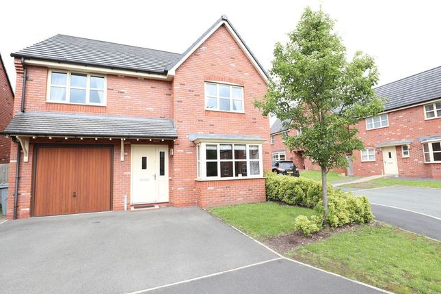 Thumbnail Detached house for sale in Meadowfield Crescent, Astbury, Congleton