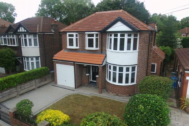 Thumbnail Detached house for sale in Sidmouth Avenue, Urmston, Manchester