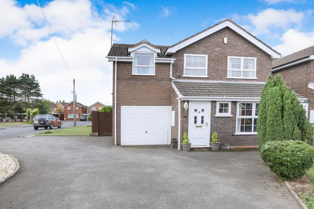 Thumbnail Detached house for sale in Caldy Walk, Stourport-On-Severn