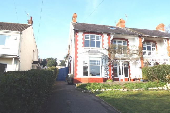 Thumbnail Semi-detached house for sale in 320 Mumbles Road, Swansea