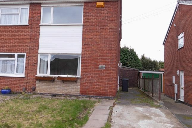 Thumbnail Semi-detached house for sale in Pinewood Avenue, Thurmaston, Leicester