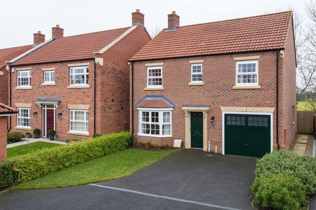 Thumbnail Detached house for sale in Longbridge Close, Easingwold, York